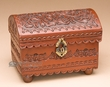 Southwestern Tooled Leather Chest -Andean