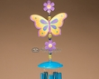 "Southwestern Wind Chime 26"" -Butter Fly  (wc10)"