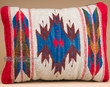 Southwestern Wool Zapotec Pillow 12x16 (aj)