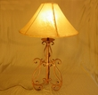 Southwestern Wrought Iron Table Lamp - Timber Creek
