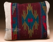 Southwestern Zapotec Cushion Throw Pillow 12x16 (Q)