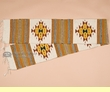 "Southwestern Zapotec Table Runner 10""x80"" (a11)"