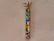 Sterling Silver Jewelry - Dichroic Glass Pendant  (129)