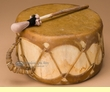 "Sweat Lodge Aspen Log Drum 8.5""x4.5""  (d18)"