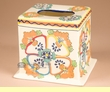 Hand Painted Talavera Pottery Tissue Cover (sp49)