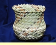 "Tarahumara Indian Basket 6""x6"" (b)"
