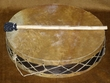 Tarahumara Indian Blue Corn Rain Drum 16""