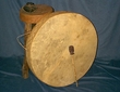 Tarahumara Indian Native American Hoop Drum 28""