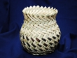 "Tarahumara Indian Native Basket -Yucca 4.5""x5"" (p)"