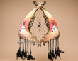 "Tarahumara Jaw Bone Dream Catcher 17.5"" -Teepees (jb5)"