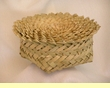 "Tarahumara Indian Yucca Baskets - 7"" Set 10 pcs. (b7)"