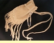 "Tigua Indian Medicine Pouch 5"" -Deer Hoof Stitch  (42)"