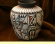 Tigua Indian Pottery & Drum Painting