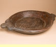 "Vintage Hand Carved Wooden Bowl 19""x14.5""  (b65)"