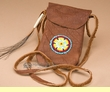 "Vintage Native American Medicine Bag 6"" -Sioux  (310)"