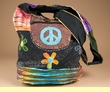 Vintage Style Peace Sign Purse  (p63)