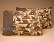 Pair Western Faux Leather Cabin Pillow 12x18 -Bear  (p23)