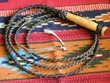 Western Cowboy Leather Bull Whip 10'