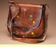 "Western Cowhide Leather Purse 11""x10""  (p46)"