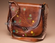 """Western Cowhide Leather Purse 11""""x10""""  (p46)"""
