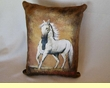Western Cowhide Pillow - Horse (23)