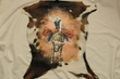 """Western Hair On Hide Wall Hanging 26""""x30"""" -Rodeo  (32)"""