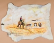 "Western Hair On Hide Wall Hanging 24""x32"" -Cow Poke  (33)"
