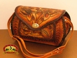 Western Hand Tooled Leather Purse (48)
