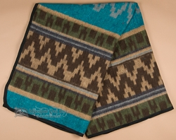 Western Indian Style Trade Blanket 72x80 -Eco Fiber  (tb1)