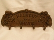 Western Iron Art Hook Rack -Shave & Haircut