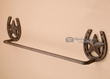 Western Iron Art Horshoe Towel Bar 21""