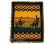 Western Jacquard Throw Blanket 50x60 -Range Rider  (14)