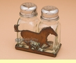 Western Laser Art Salt & Pepper Shaker -Horse  (sp12)