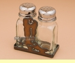 Western Metal Art Salt & Pepper -Cowboy Boot  (sp11)