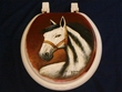 Western Painted Toilet Seat - Stallion (6)  CLEARANCE