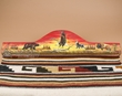 "Western Tapestry Rug Hanger 30"" -Sunset Eagle  (RH17)"