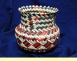 "Western Tarahumara Indian Basket  6""x6"" (h)"