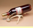 White Tail Deer Antler Wine Bottle Rack  (ar6)