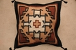 Wool Southwest Style Pillow Cover 21x21-White Rock (pc24p2)