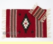 "Wool Western Place Mat & Coaster Set 13""x 19"" (wpm3)"
