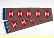 "Wool Zapotec Table Runner 10""x80"" (a25)"