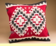 Woven Southwest Pillow Cover 20x20-Red Mesa (pc23)