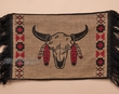 "Woven Southwest Placemat 13""x19"" -Buffalo Skull  (pm11)"