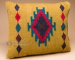 Woven Southwestern Zapotec Indian Pillow 12x16 (k)