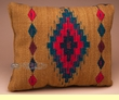 Woven Zapotec Indian Southwest Wool Pillow 12x16 (v)