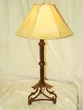 "Wrought Iron Table Lamp 30.5"" -CLEARANCE  (TL6)"