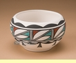 Ysleta Del Sur - Tigua Indian Rain Design Pottery