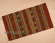 "Zapotec Indian Area Rug 23""x39"" (89)"