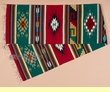 "Zapotec Indian Southwest Table Runner 15""x80"" (b35)"