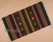 "Zapotec Indian Southwestern Rug 23""x39"" (129)"